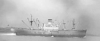 SS Alcoa Puritan (1941) - SS Alcoa Puritan, November 9, 1941