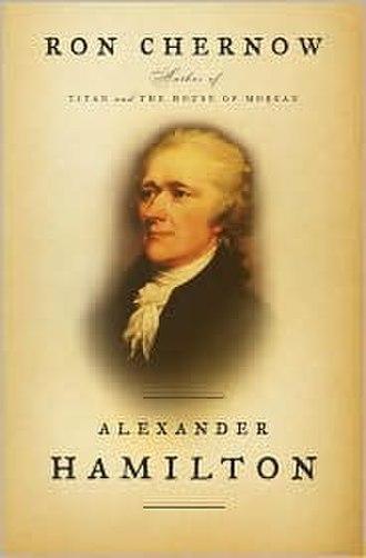Alexander Hamilton (book) - Image: Alexander Hamilton Ron Chernow Cover