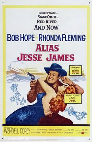 Alias Jesse James - theatrical release poster