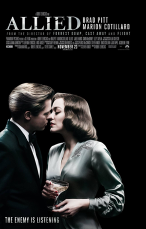 Allied (film) - Theatrical release poster