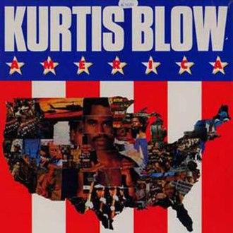 America (Kurtis Blow album) - Image: Americakurtisblow