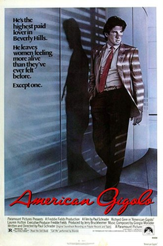 American Gigolo - Theatrical release poster