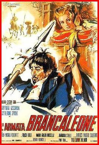 L'armata Brancaleone - Theatrical release poster