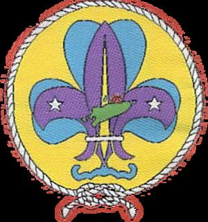 União Nacional dos Escuteiros de Timor-Leste - Membership badge of Associação dos Escuteiros de Timor Lorosae