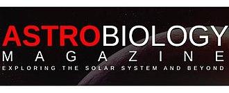 Astrobiology Magazine - Image: Astrobiology Magazine Logo