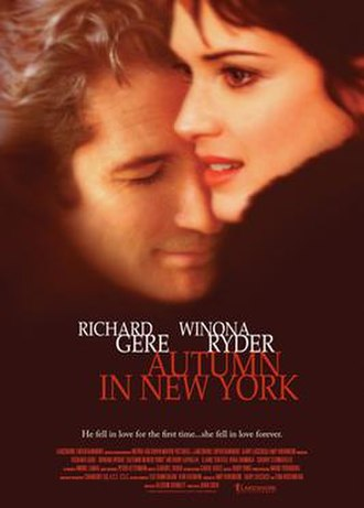 Autumn in New York (film) - Theatrical release poster