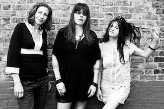 Babes in Toyland (band) - A promotional shot of the band in 1992. (L-R: Lori Barbero, Kat Bjelland, and Maureen Herman)
