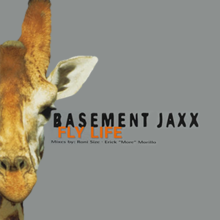 basement jaxx and fly life printed on the right side of