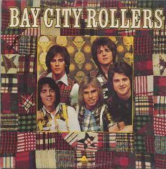 Bay City Rollers (album) - Image: Bay City Rollers LP