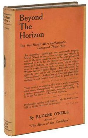 Beyond the Horizon (play) - First edition cover