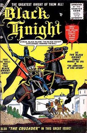 Black Knight (comics) - Image: Black Knight Atlas 1