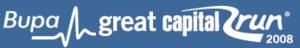 Great Capital Run - Image: Bupacapitalrun logo