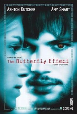 The Butterfly Effect - Theatrical release poster