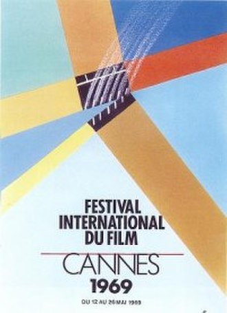 1969 Cannes Film Festival - Official poster of the 22nd Cannes Film Festival