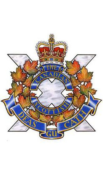 The Canadian Scottish Regiment (Princess Mary's) - Image: C Scot R cap badge