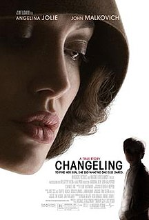 <i>Changeling</i> (film) 2008 film directed by Clint Eastwood