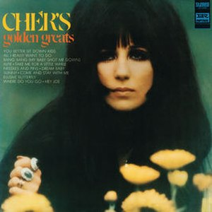 Cher's Golden Greats - Image: Chergolden 1968