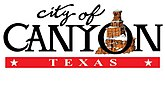 Official logo of Canyon, Texas