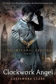Image result for clockwork angel cover