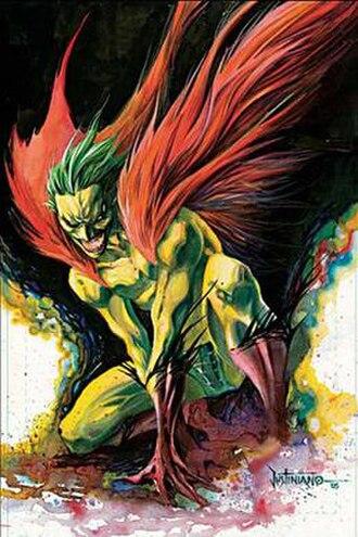 Creeper (DC Comics) - Image: Creeper (Justiniano's art)