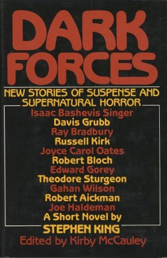 Dark Forces (book) - Cover of the first US edition