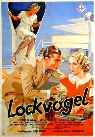 Decoy (1934 film) - Film poster