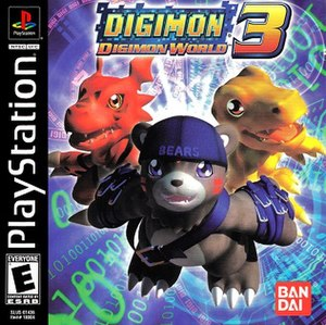 Digimon World 3 - North American boxart