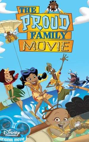 The Proud Family Movie - DVD cover