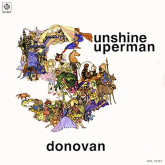 Sunshine Superman (album) - Image: Donovan Sunshine Superman UK