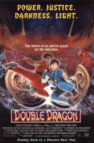 Double Dragon (film) - Image: Double Dragon 1994 movie poster
