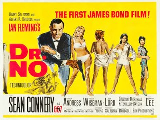 <i>Dr. No</i> (film) 1962 James Bond film directed by Terence Young