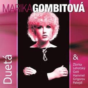 Duetá - Image: Dueta (Marika Gombitová album cover art)