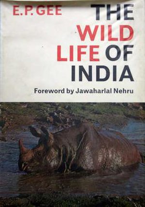 Edward Pritchard Gee - The Wildlife of India, 1964 first edition