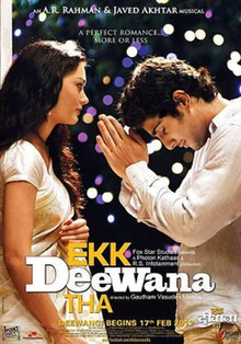 Watch Ekk Deewana Tha DVD Online Movie