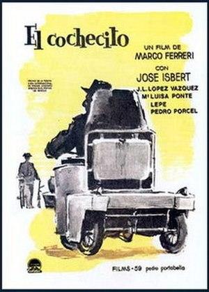 José Isbert - Poster of El cochecito.