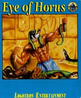 <i>Eye of Horus</i> (video game) 1989 video game