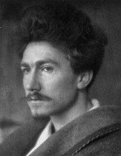 Ezra Pound American poet and critic