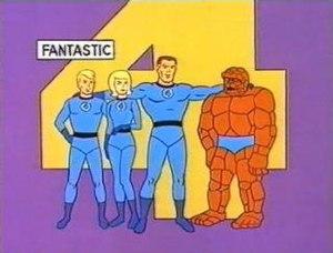 Fantastic Four (1967 TV series) - Image: Fantastic 4