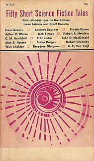 <i>Fifty Short Science Fiction Tales</i> book by Isaac Asimov