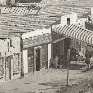 Hugh Findlay - Findlay's Match Manufactory, Main Street, Salt Lake City.
