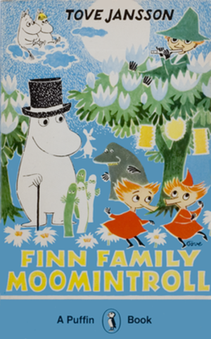 Tove Jansson - Cover of Finn Family Moomintroll (1948)