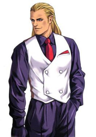 Geese Howard - The young Geese Howard, as depicted in The King of Fighters Neowave
