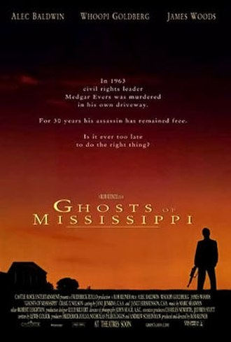 Ghosts of Mississippi - Theatrical release poster