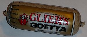 Goetta - A conventional log of Goetta