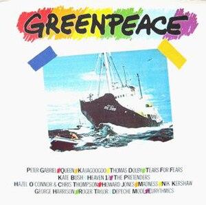 Greenpeace – The Album - Image: Greenpeace – The Album 1985 UK cover