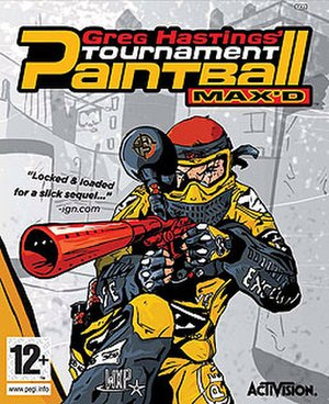 Greg Hastings Tournament Paintball MAX'D - Image: Greg Hastings Tournament Paintball MAX'D