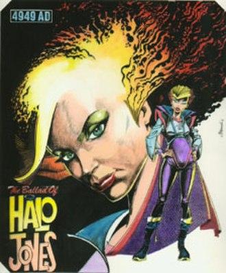 The Ballad of Halo Jones - Halo Jones 2000 AD poster, drawn by Ian Gibson