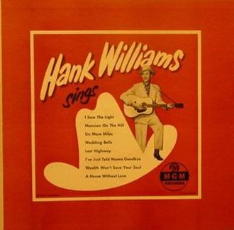 Hank Williams Sings - Image: Hank Williams Sings