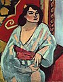 Henri Matisse, 1909, Algerian Woman (L'Algérienne), oil on canvas, 81 x 65 cm, Musée National d'Art Moderne, Centre Georges Pompidou, Paris.jpg