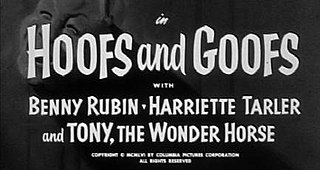 <i>Hoofs and Goofs</i> 1957 film by Jules White
